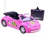 Růžový kabriolet Garbusek R / C