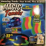Magic Tracks svítící autodráha 220 ks
