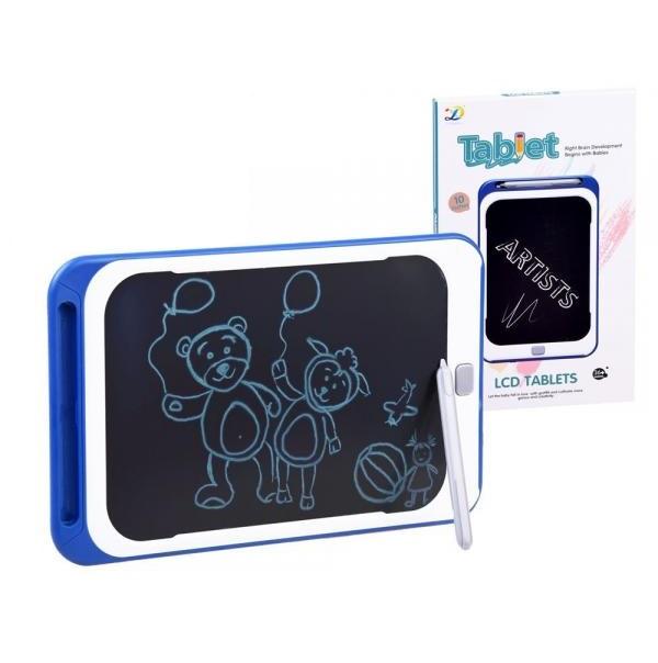 10 palcový LCD tablet na kreslení - červená