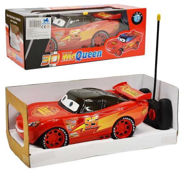 Auto Blesk McQueen 3D na dálkové ovládání
