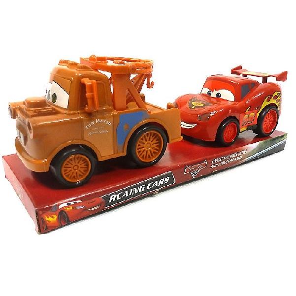 Auto Blesk McQueen a Burák - Blesk McQueen a Burák
