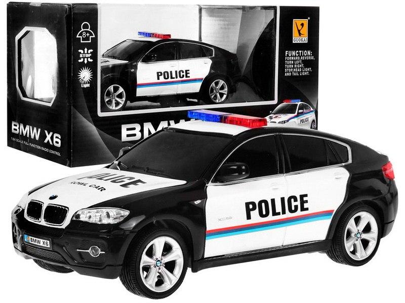 Auto BMW X6 R / C Policie