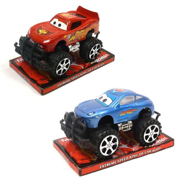 Auto Blesk McQueen na baterie modré - Blesk McQueen