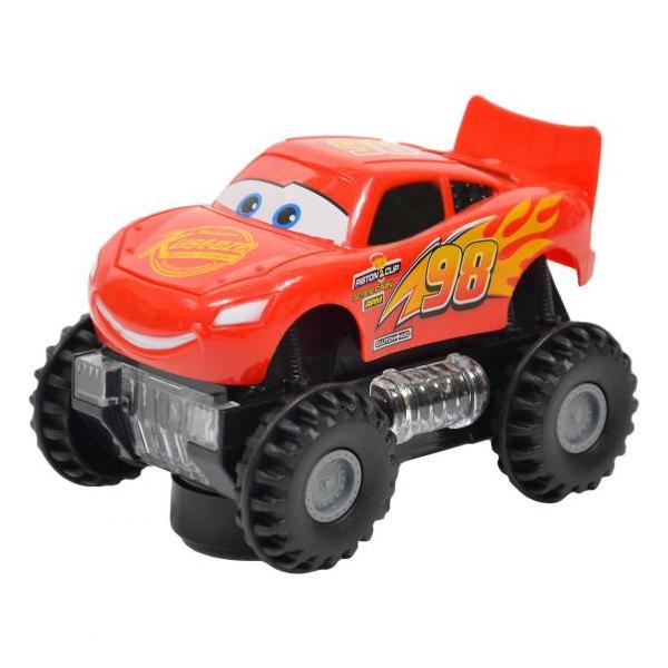 Auto Cars na vysokých kolech se světlem a zvukem - Blesk McQueen