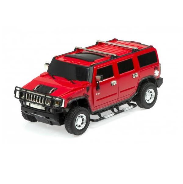 Auto HUMMER H2 na dálkové ovládání - červená