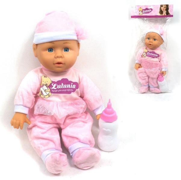 Panenka miminko s lahvičkou