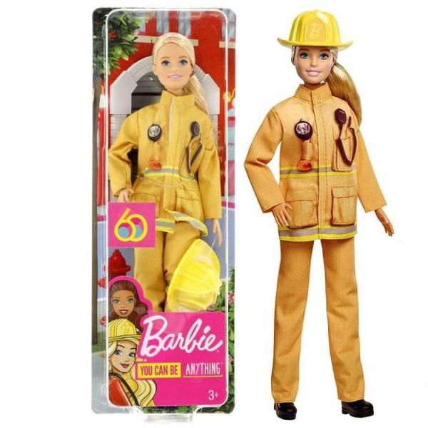 Panenka Barbie - hasič