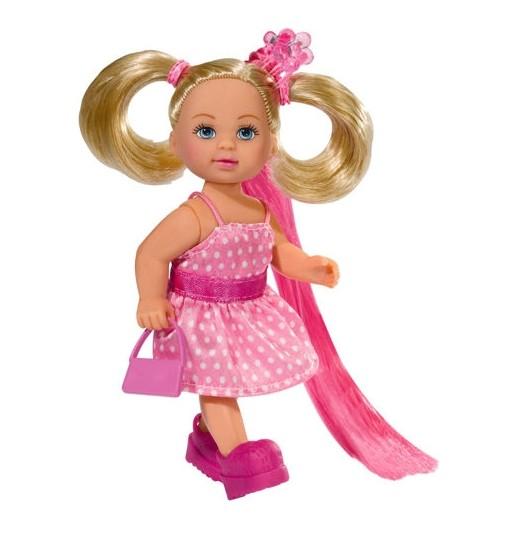 Panenka Evi s dlouhými vlasy