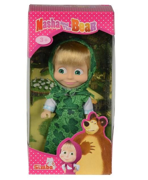 Panenka Máša v zelené sukýnce