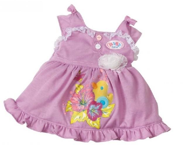 BABY BORN šaty pro panenku - růžové