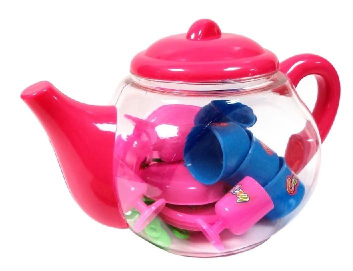 Čajník s doplňky