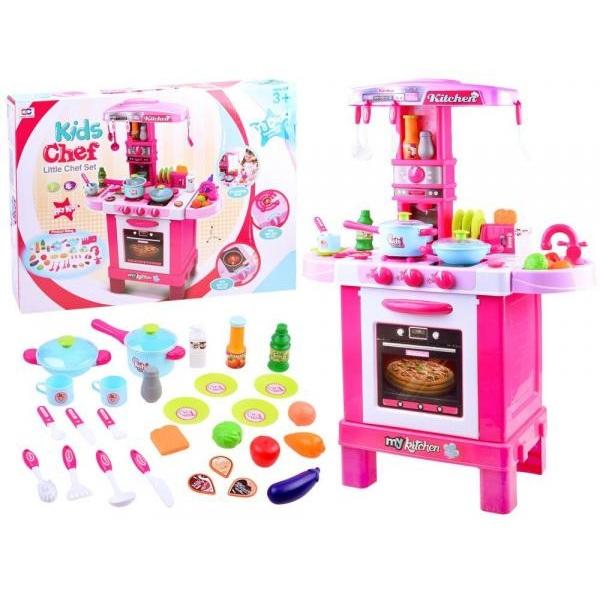 Dětská kuchyňka s toustovačem