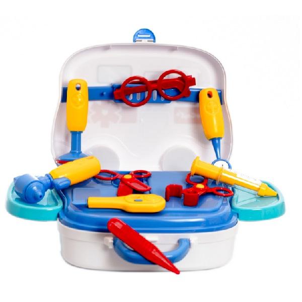 Dětská lékařská souprava v kufříku - autobus