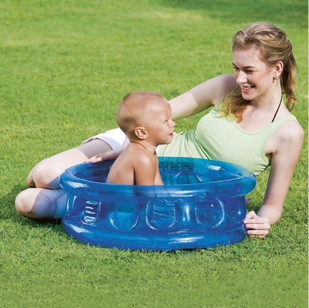 Dětský bazén s měkkým dnem Bestway 51112 - modrá