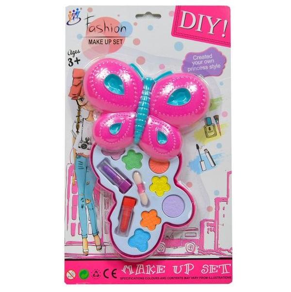 Dětský make-up set ve tvaru motýla