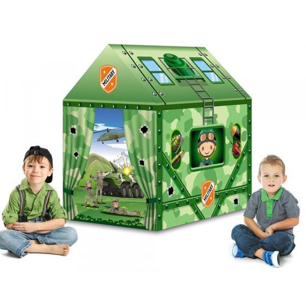Dětský stan Vojenský dům