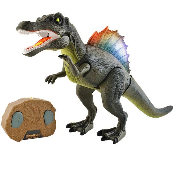 Dinosaurus na dálkové ovládání - hnědá