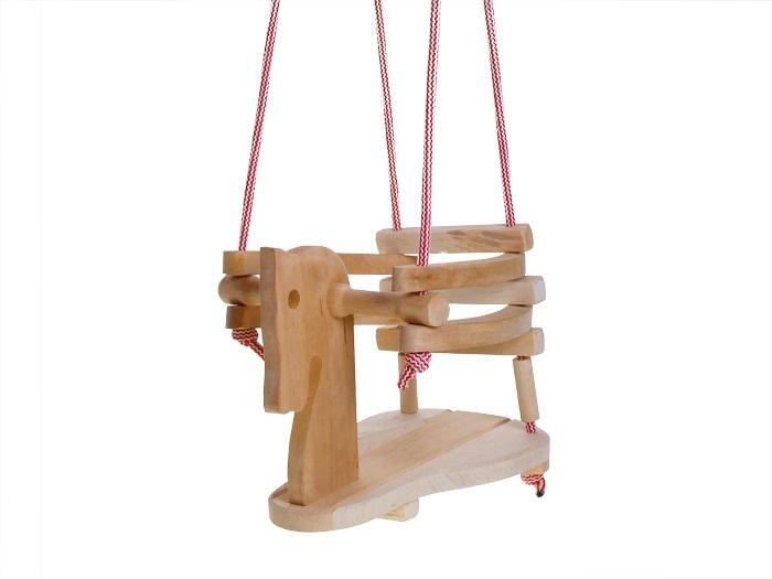 Dřevěná houpačka Koník