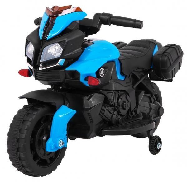 Elektrická motorka SkyBike modrá