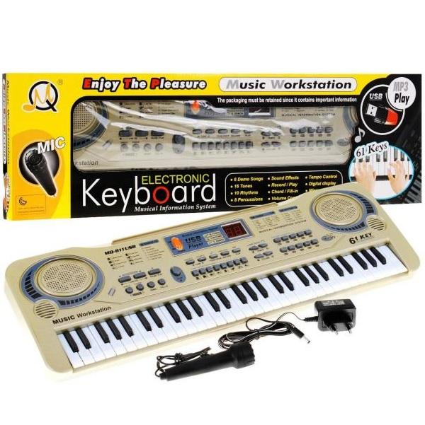 Elektronický klavír s USB vstupem MQ-811USB