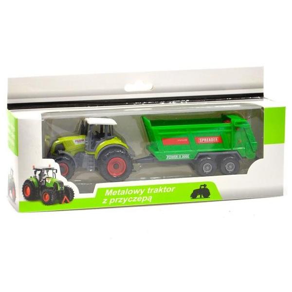 Levně Farmářský traktor s vlečkou - C