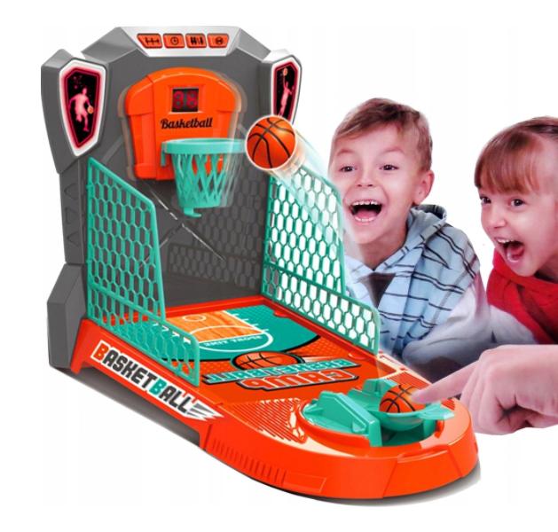 Hra mini basketbal Pohyblivý košík se zvukem