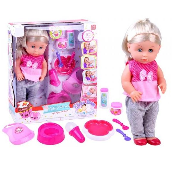 Interaktivní mluvící panenka 40 cm