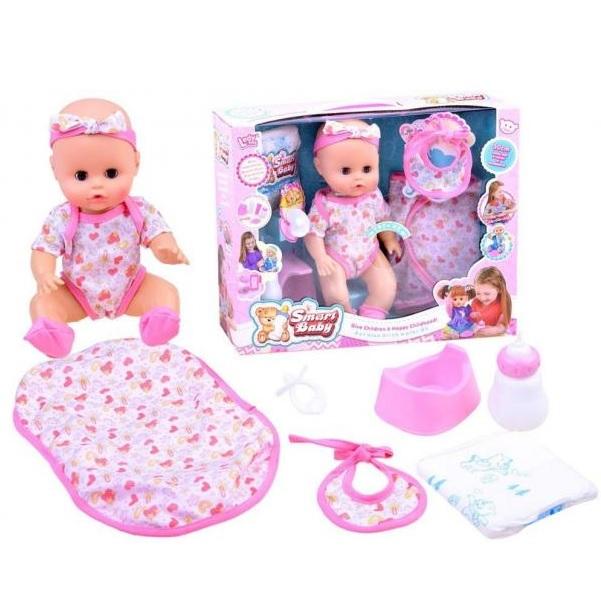 Interaktivní panenka miminko - růžové