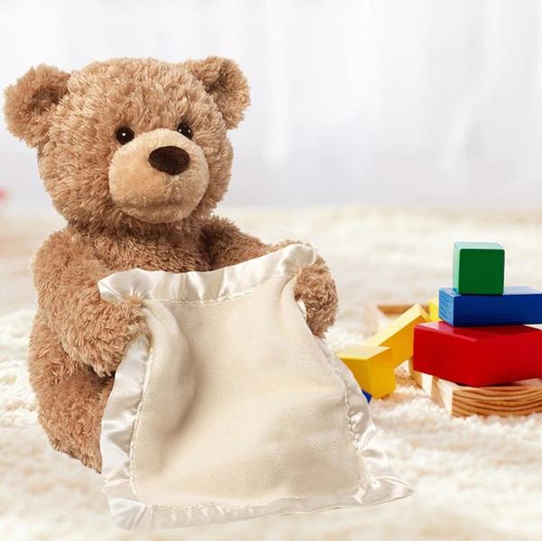 Interaktivní plyšový medvídek