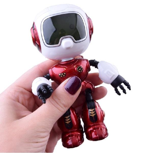 Interaktivní robot 12 cm - červená