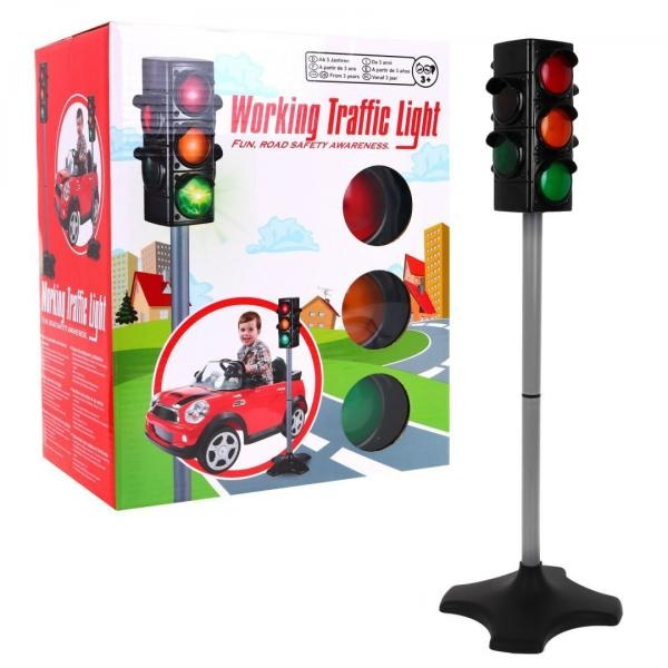 Interaktivní světelný semafor