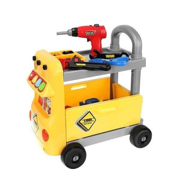 Interaktivní vozík s nářadím