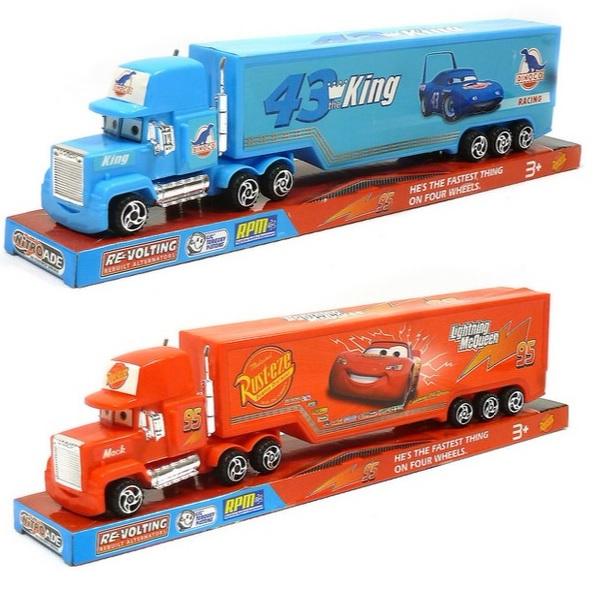 Kamion Mack Cars 32 cm - červená