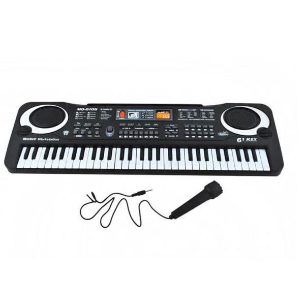 Levně Keyboard - elektronický klavír 61 klávesový- akce: chybí obal