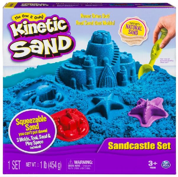 Kinetický písek 454 g - modrá