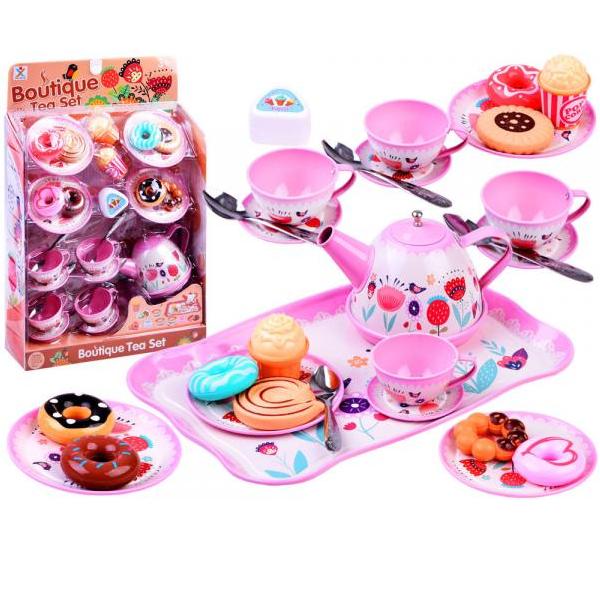 Kovová čajová souprava pro panenky