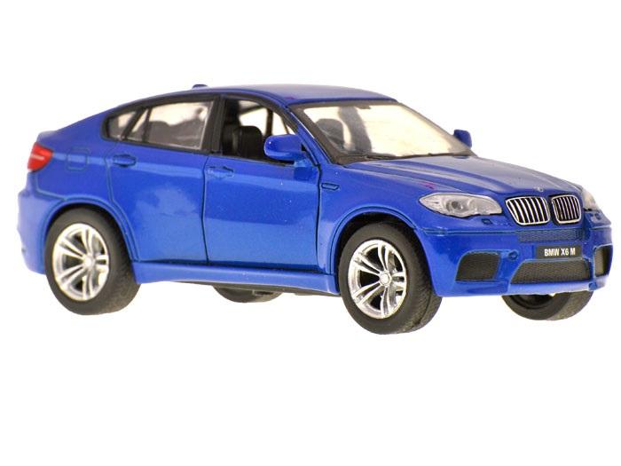 Kovové auto - BMW X6 - bílá