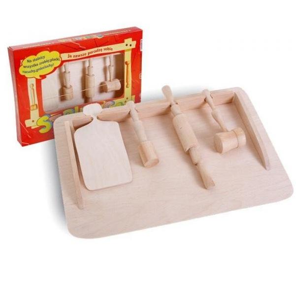 Kuchyňský dřevěný set
