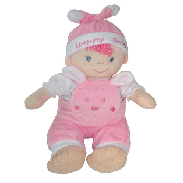 Látková panenka-miminko 25 cm - růžová