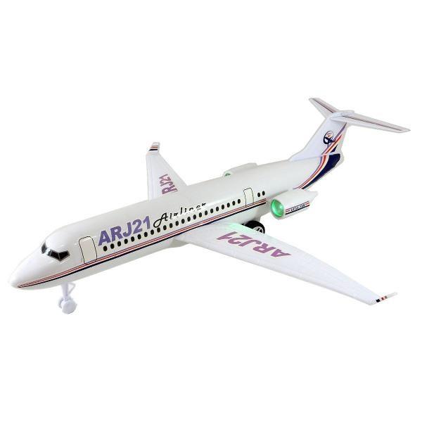 Letadlo Airbus ARJ21 na baterie