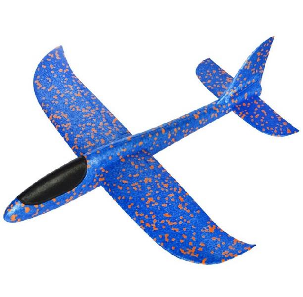 Letadlo polystyrenové 47cm - červená