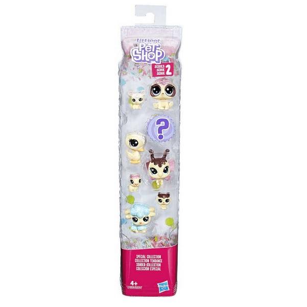 Littlest Pet Shop zvířátko Frosting Frenzy set 8 ks - 2