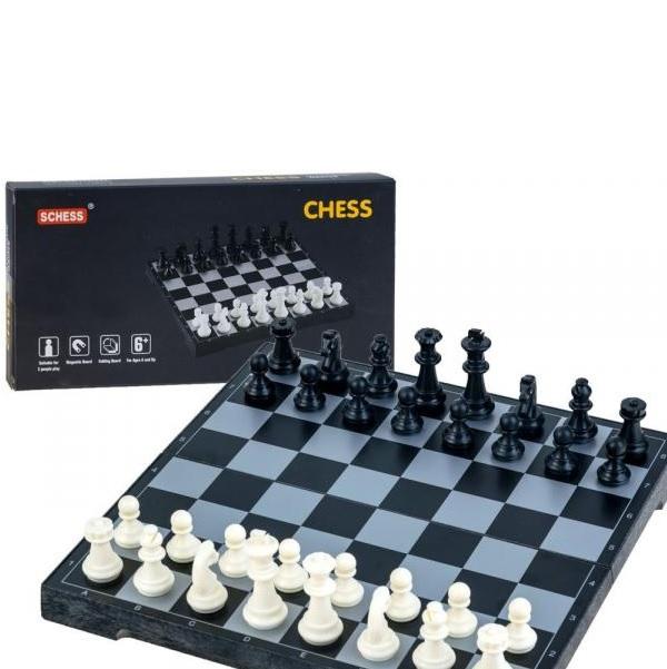 Magnetické šachy 2 v 1