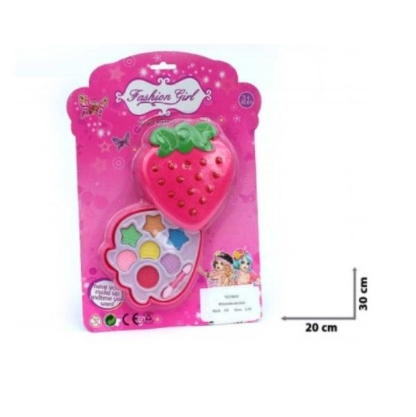 Make-up pro dívky ve tvaru jahody - malý