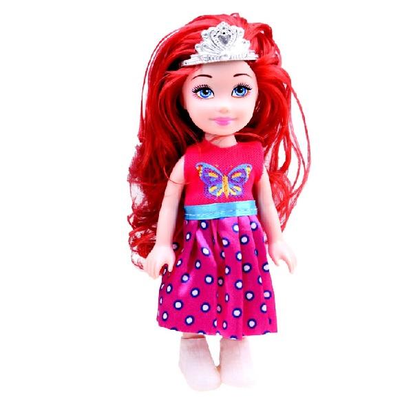 Malá roztomilá panenka - zrzavé