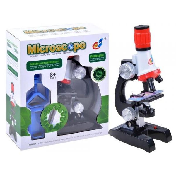 Mikroskop pro malého vědce s doplňky