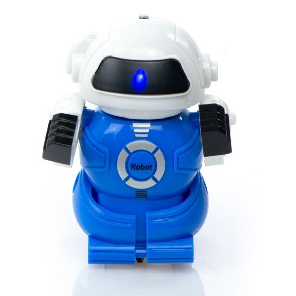 Mini robot na dálkové ovládání - modrá