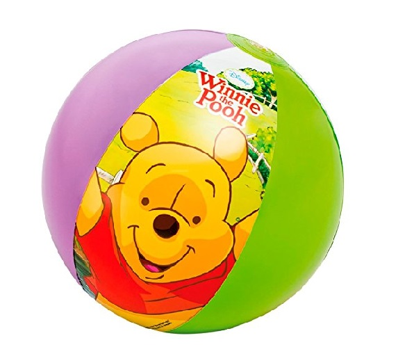 Nafukovací míč Medvídek PU INTEX