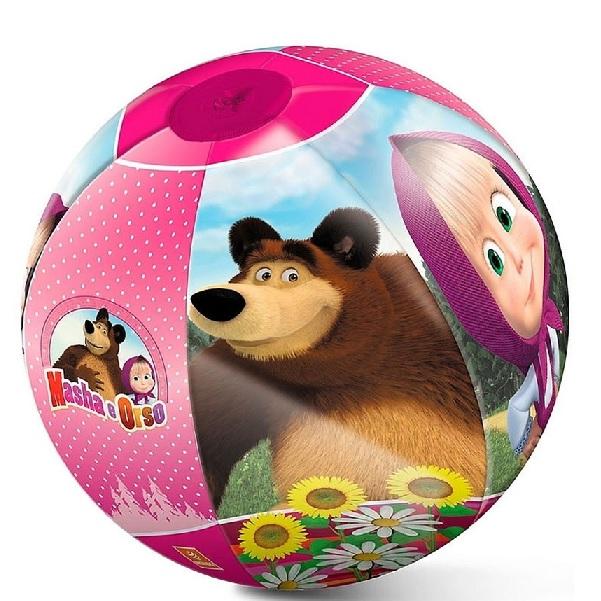 Nafukovací míč Máša a medvěd