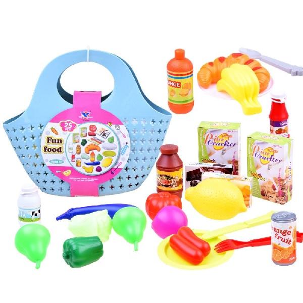 Nákupní taška s potravinami